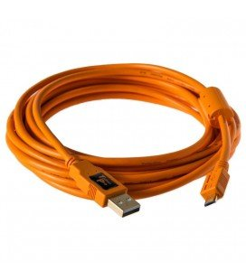 TETHERTOOLS MICRO USB vers USB 2.0 4.6m CABLE ORANGE (CU5460ORG)