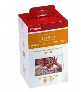 CANON RP108 PHOTOGRAPHIC PAPER AND SELPHY CARTRIDGE