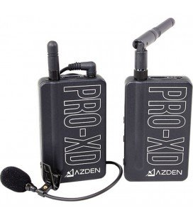 2.4 GHz AZDEN PRO-XD INAMLAMBRICO MICROPHONE LAVALIER SYSTEM