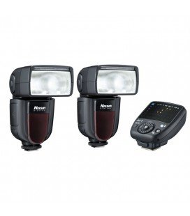 NISSIN KIT 2 DI700A FUJI 2FLASHES + TRANSMITTER AIR 1