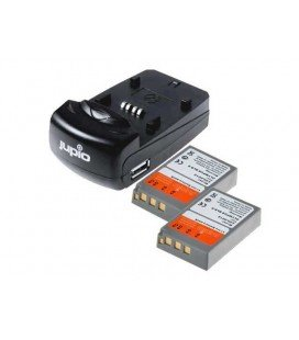 JUPIO KIT CARGADOR  USB + 2 BATERIAS  PS-BLN1 BL-N1