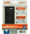 JUPIO  2 BATERIAS DMW-BCM13E PANASONIC +  KIT CARGADOR USB 1150MAH (CPA1000)