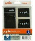 JUPIO KIT CARGADOR USB + 2 BATERIAS DMW-BLC12E 1200MAH (CPA1001)
