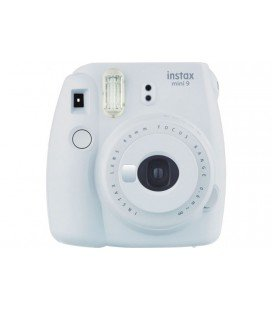FUJIFILM  INSTAX MINI 9 + 10 FOTOS + FUNDA ORIGINAL -BLANCO