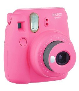 FUJIFILM  INSTAX MINI 9 + 10 PHOTOS + ORIGINAL COVER - PINK