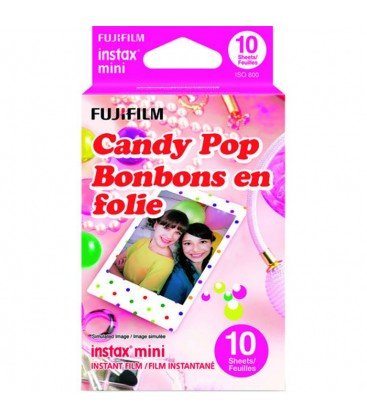 FUJIFILM INSTAX MINI CANDY POP - 10 INSTANTANEAS