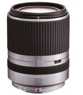 OBIETTIVO TAMRON AF 14-150 mm F:3.5-5.8 Di III MICRO QUATTRO TERZE (52 mm) (PANASONICA E OLIMPUS) ARGENTO