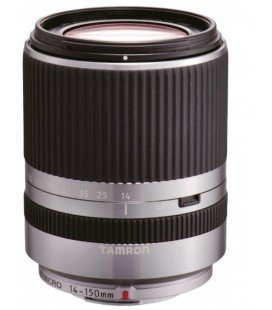 TAMRON OBJECTIVE AF 14-150 mm F:3.5-5.8 Di III MICRO FOUR THIRDS (52mm) (PANASONIC AND OLYMPUS) SILVER