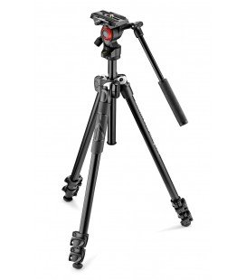 MANFROTTO LIGHT 290 TRIPOD KIT + VIDEO PATELLA