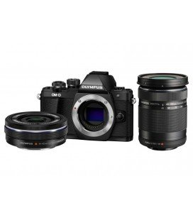OLYMPUS OMD EM10 MARK II +1 4-42MM EZ + 40-150MM R 2-LINSEN KIT