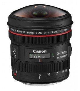 CANON EF 8-15mm f/4L FISHEYE USM + kostenlose 1 Jahr VIP Wartung SERPLUS CANON