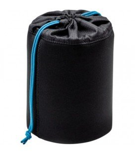 TENBA SOFT LENS HOLDER  6X4.5 INCHES (15X11 CM) - BLACK