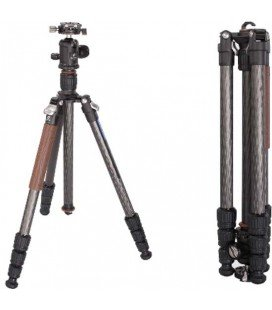 LEOFOTO LN-254CT + NB-34 TRIPOD KIT PRO CARBON + KNEECAP