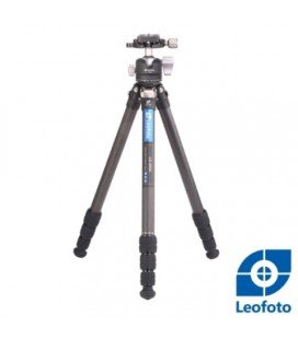 LEOFOTO  LS254C + KIT LH30 TRÉPIED CARBONE + ROTULE