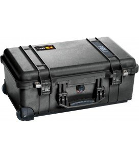 PELI 1510  WHEELED SUITCASE - BLACK WITHOUT DIVIDERS