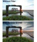 LEE SW150 REVERSE GRADUADO FILTRO 0.9 3 PARADAS 150X150MM