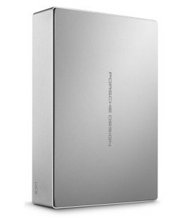 "LACIE  4TB EXTERNAL HARD DRIVE TYPE C 3.5"" PORSCHE DESIGN -GREY"