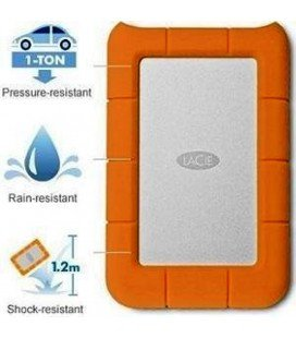 LACIE 2TB RUGGED MINI DISCO DURO PORTATIL  (STFR2000800)