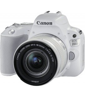 CANON EOS 200D WHITE + 18-55 IS STM + FREE 1 YEAR MAINTENANCE VIP SERPLUS CANON