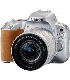 CANON EOS 200D + 18-55 IS STM SILVER + FREE 1 YEAR MAINTENANCE VIP SERPLUS CANON