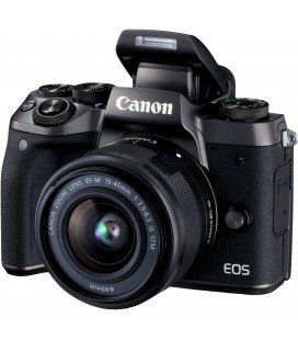 CANON EOS M5 + EF-M 15-45 MM f / 3.5-6.3 IS STM + 1 ANNO GRATUITO SERPLUS CANON VIP MAINTENANCE SERPLUS CANON