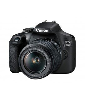CANON EOS 2000D + 18-55MM  F3.5-5.6 IS II KIT + + FREE 1 YEAR MAINTENANCE VIP SERPLUS CANON