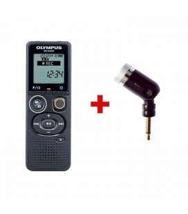 OLYMPUS VN-541PC + UNIDIRECTIONAL MICROPHONE ME52 4GB RECORDER