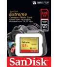 SANDISK COMPACT FLASH EXTREME 128GB (120 / 85MB / S)