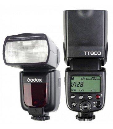 GODOX TT600 HSS GN 60 FLASH MANUAL + DIFUSOR
