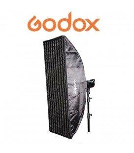 FENÊTRE GODOX 80X120CMS + GRILLE + ADAPTATEUR ELINCHROM SB-FE80120