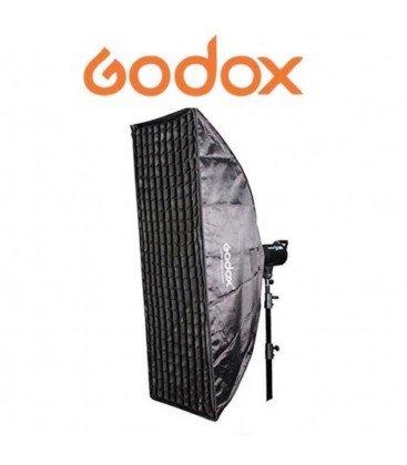 GODOX  VENTANA 80X120CMS + GRID + APAPTADOR ELINCHROME SB-FE80120
