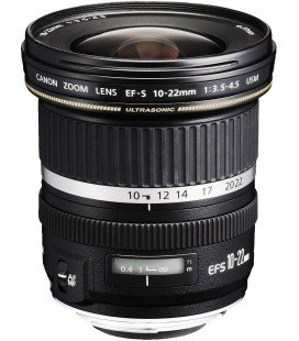 CANON EF-S 10-22mm f/3.5-4.5 USM + FREE 1 YEAR VIP MAINTENANCE SERPLUS CANON