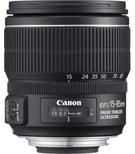 CANON EF-S 15-85mm f/3.5-5.6 IS USM + FREE 1 YEAR VIP MAINTENANCE SERPLUS CANON