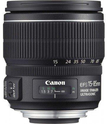 CANON EF-S 15-85mm f/3.5-5.6 IS USM + GRATIS 1 AÑO MANTENIMIENTO VIP SERPLUS CANON