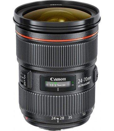 CANON EF 24-70mm f/2.8L II USM + FREE 1 an VIP MAINTENANCE SERPLUS CANON