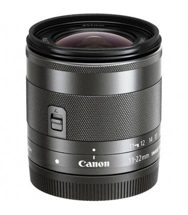 CANON EF-M 11-22 MM F / 4-5.6 IST STM