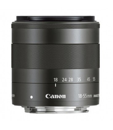 CANON EF-M 18-55MM f/3.5-5.6 IS STM + FREE 1 an VIP MAINTENANCE SERPLUS CANON
