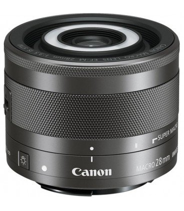 CANON EF-M 28 MM F / 3.5 Macro IS STM + FREE 1 AN VIP MAINTENANCE SERPLUS CANON