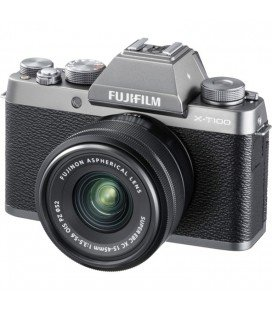 FUJIFILM X-T100 + 15-45MM PREVENTA - NEGRO