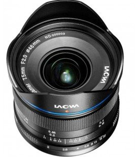 LAOWA 7.5MM F/2 MFT - STANDARDVERSION - SCHWARZ