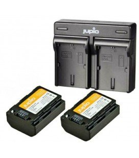 JUPIO NP-FZ100 2 BATTERIES + DUAL USB CHARGER