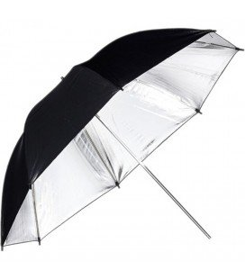 PHOTTIX PRIZE UMBRELLA REFLECTIVE 120CMS. SILVER/BLACK