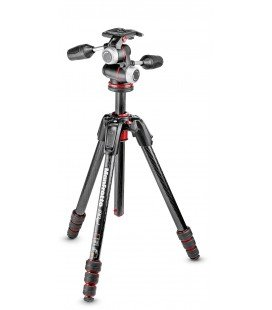 MANFROTTO MK190GOC4-3WX TRIPOD CARBON 4 SECTIONS 190GO