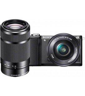 SONY ALPHA ILCE 5100 + 16-50mm + 55-210MM SCHWARZ