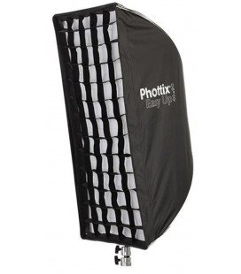 PHOTTIX EASY UP HD SOFTBOX MIT RASTER 40X90CM UND H-MONTAGEPLATTE (PH82482)
