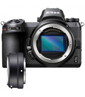 NIKON Z6 + FTZ CAMERA ADAPTER WITHOUT MIRROR - BODY