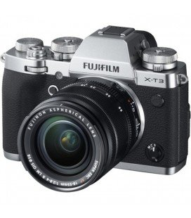 FUJIFILM X-T3 + OIS XF 18-55mm f / 2.8-4 R LM PLATA