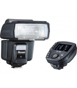 NISSIN I60A + AIR 10S PARA NIKON - KIT DE FLASH Y DISPARADOR INALÁMBRICO