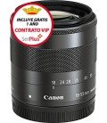 CANON EF-M 18-55MM f/3.5-5.6 IS STM + GRATIS 1 AÑO MANTENIMIENTO VIP SERPLUS CANON