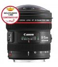 CANON EF 8-15mm f/4L FISHEYE USM + FREE 1 an VIP MAINTENANCE SERPLUS CANON